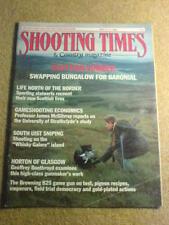 SHOOTING TIMES - SCOTTISH - 11 May 1989 #4548