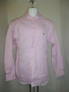 NWT Ralph Lauren Button Down Shirt SZ 16 40/41