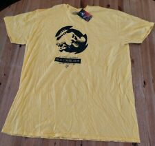 Universal Official : Jurassic World Isla Nublar T-Shirt- 2XL - Yellow - New