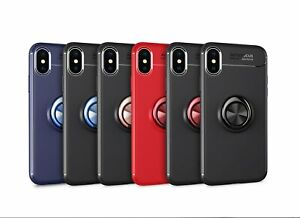Armor Shockproof Bumper Phone Case with Ring Stand ( Samsung )