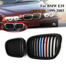For BMW E39 5 Series 97-03 525/530/540 M5 Sedan Front Grill Grille M Color Black