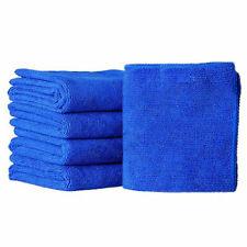 Wholesale 5pcs Blue Absorbent Wash Cloth Car Auto Care Microfiber Clean Towels
