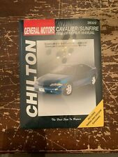 Chilton General Motors Cavalier Sunfire 1995-00 Repair Manual