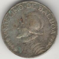 1932 Panama Silver 1/10 Balboa Coin | World Coins | Pennies2Pounds