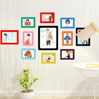 New 1PC Picture Frames Rubber Magnetic Refrigerator Photo Frame DIY Home Decor