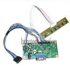 "VGA LCD Controller Board Driver For B173RW01 N173O6-L01 17.3"" DIY Monitor"