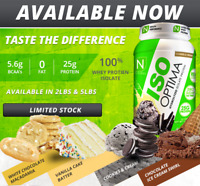 Nutrakey ISO OPTIMA Whey Protein Isolate Powder 2 lbs (28 Servings) - 3 FLAVORS