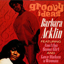Barbara Acklin-Groovy Ideas (vinile LP - 1987-UK-original)