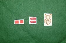 1/6 WW2 di British Essex Regiment titoli spalla patch set lotto