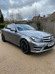 BARGAIN 2014 MERCEDES C250 AMG PLUS COUPE AUTOMATIC SALVAGE DAMAGED REPAIRED CAT