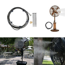Portable Outdoor Misting System Fan Cooler Water Cooling Patio Mist Garden Spray