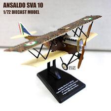 Ansaldo SVA 10 1/72 diecast plane model aircraft ITALERI