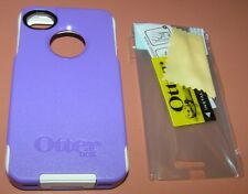 OtterBox Commuter case Apple iPhone 4/4s, PET screen protector, Purple & White