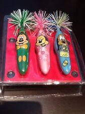 Disneyland World Pen Set Limited Edition 5000 Mickey Minnie Pluto Spring Holiday