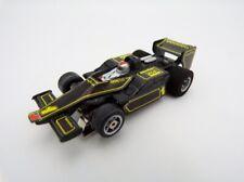 1979 Tomy Japan Aurora AFX G-Plus Mario Andretti Black Lotus F1 HO Slot Car Tyco