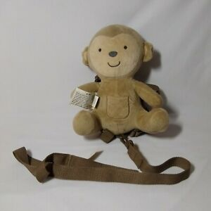 Carter's Child Of Mine 2 In 1 Harness Buddy Monkey w/ Safety Leash