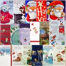 Brother / Brother-in-Law Christmas Cards - Various Designs Available