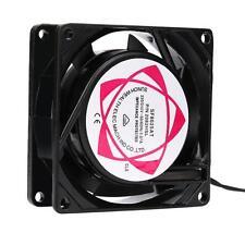 220V 240V 8cm 80mm x 80mm x 25mm AC Metal Brushless Cooling Industrial Fan UK