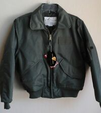 Sage Green Air Force CWU-45P Flight Jacket Ultra Force Winter-SM-New with Tags