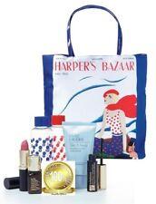 Estee Lauder 7 Piece Gift Set Makeup & Skincare Exclusive Harper's Bazaar Tote