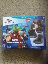 NIB Disney Infinity Wii U 2.0 Starter Pack.  Iron Man. Thor, Black Widow.