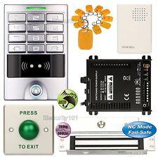 Access Controller Password Kit + Electric Magnetic Door Lock NC Mode Fail Safe