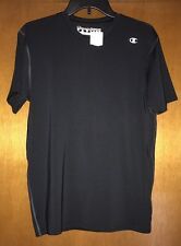 Men's Brand New Champion Athletic Shirt Black Size Large