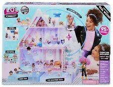 L.O.L. Surprise! Winter Disco Chalet Wooden Doll House Exclusive 95+ Surprises