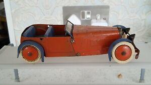 Vintage Meccano Constructor Car No.1 Clockwork Motor Car..1930's....