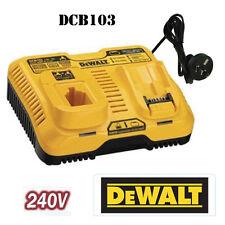 Dewalt DCB103 20V Dual Port/Dual Voltage Charger