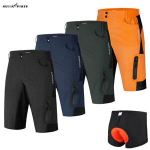 Men's Cycling Baggy Shorts MTB Downhill Mountain Bike Bicycle Short Pants