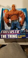 "NIB Marvel Fantastic 4 The Thing 12"" Poseable Action Figure Toy Biz"