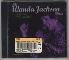 Wanda Jackson - Live and Still Kickin' - Brand New Sealed CD - Grab A D Chord