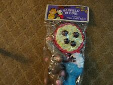 New listing New 4 Pack Of Garfield & Odie Squeaky Dog Toys-Spaghetti/Bear/Hot Dog/Sundea