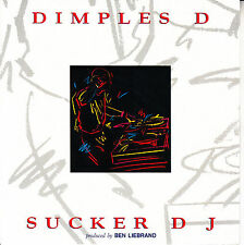 "DIMPLES D Sucker DJ PICTURE SLEEVE 7"" 45 rpm record + juke box title strip"