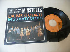 "THE NEW CHRISTY MINSTRELS""DA ME/MISS KATY  - 45 giri CBS It 1966"" PERFETTO"