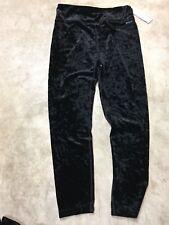 womens calvin klein performance high waist slimming compression velvet leggings