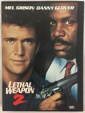 Lethal Weapon 2 DVD Standard and Widescreen Mel Gibson Danny Glover Tested