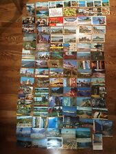 Lot of 100 Vintage Postcards 1940's-70's Canada - Some America