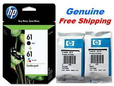 Genuine HP 61 Black/Color Ink Cartridge Combo Pack for HP 3050 HP 2549 printer