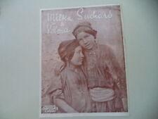 advertising Pubblicità 1912 MILKA & VELMA CHOCOLAT SUCHARD