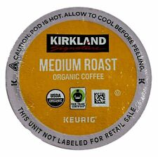 Kirkland Signature Medium Roast Keurig Organic Coffee 12 24 K-Cup Pods Exp.10/21