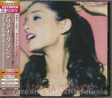 Ariana Grande YOURS TRULY 2014 Japan Deluxe CD DVD NEW SEALED