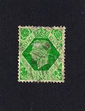 Great Britain 7p 1937-39 -- King George VI  *used* (E1)