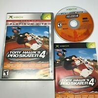 XBOX Tony Hawks ProSkater 4 Best of Platinum Hits Complete w/Manual (Xbox 2003)