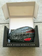 Dye Rotor Paintball Loader/ Hopper Grey print / Red - speed feed - boxed