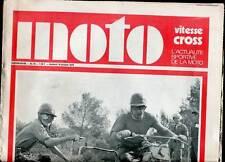 HEBDOMADAIRE MOTO VITESSE CROSS N°18. 1970.