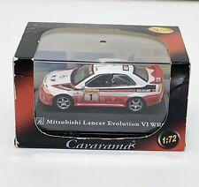 Mitsubishi Cararama Lancer Evolution Ralli Art Raylle Die Cast Metal #travisscot