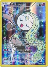 POKEMON Meloetta XY120 - Mythical Collection - Promo Black Star Full Art Holo NM