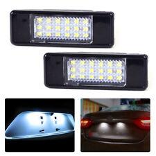 2x License Plate Light Lamp 18 LED for Peugeot 207 308 406 407 Citroen C2 C3 FR